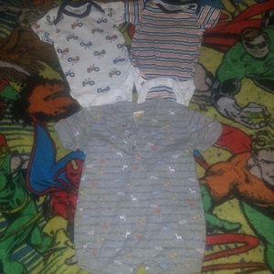 Other - 3 onesies lot size 0 - 3 months
